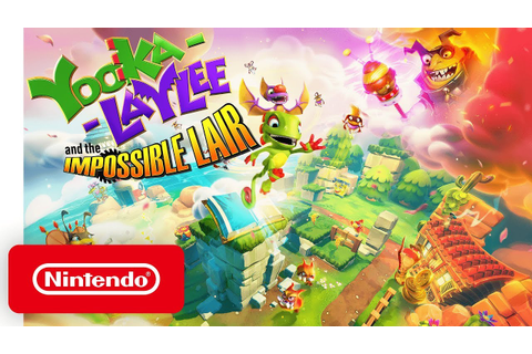 Yooka-Laylee and the Impossible Lair - Announce Trailer ...