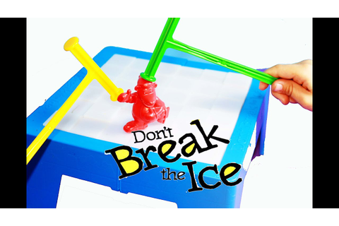Board Game Review Don't Break The Ice Game - YouTube