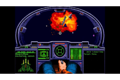Wing Commander Academy Gameplay footage - YouTube