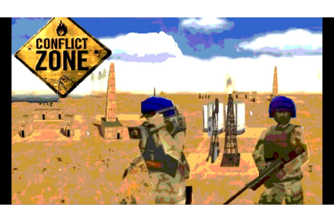 Conflict Zone Gameplay Media Trap Part 1 (PS2) - YouTube