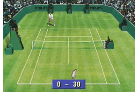 International Tennis Open Images for CD-i (1992) - Defunct ...