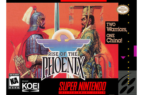 Rise of the Phoenix SNES Super Nintendo