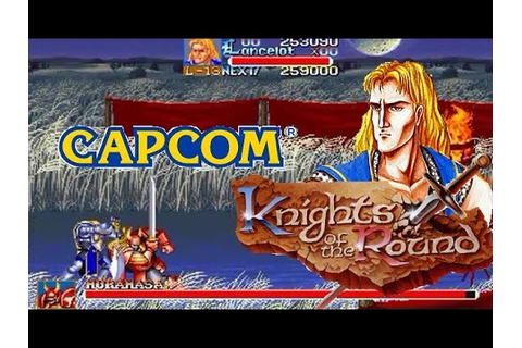 Knights of the Round arcade Lancelot Lev7 Hardest no Heavy ...