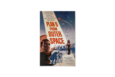 Plan 9 from Outer Space Poster | Zazzle