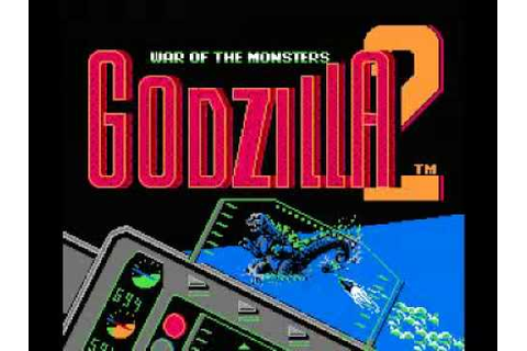 Godzilla 2 - War of the Monsters (NES) Music - Atom Bomb ...