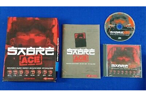 pc SABRE ACE Conflict Over Korea Game BIG BOX Version ...