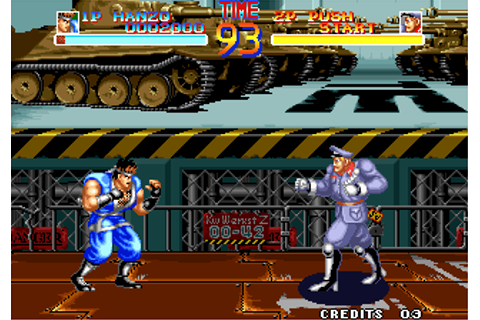 Play World Heroes SNK NEO GEO online | Play retro games ...