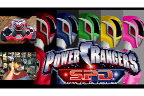 Power Rangers S.P.D. Plug & Play TV Games part 1 - Green ...