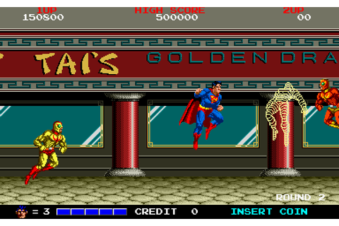 Superman (1988) by Taito Arcade game