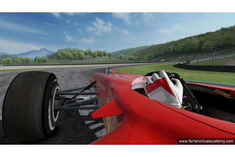 Ferrari Virtual Academy 2010 - Screenshots der F1-Simulation