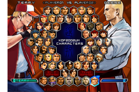 The King of Fighters 2002 - Unlimited Match Details ...