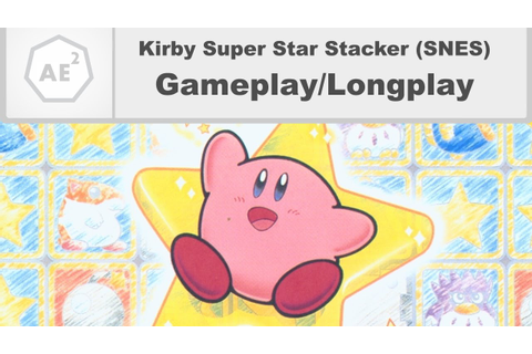 Kirby Super Star Stacker - Gameplay/Longplay - YouTube