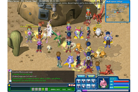 digimon rpg online kor 7z full game free pc, download ...
