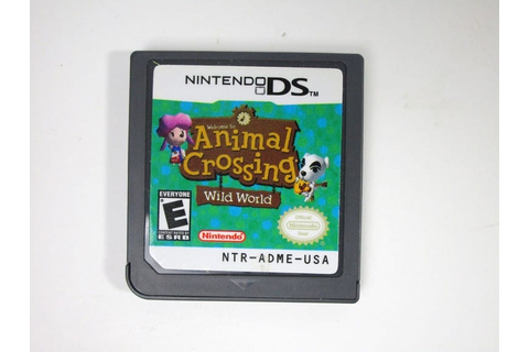 Animal Crossing Wild World game for Nintendo DS (Loose ...