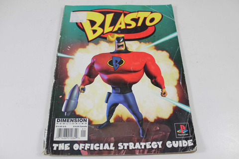 Blasto Official Guide - Dimension Publishing