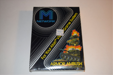 Armor Ambush Blue Label Atari 2600 Video Game New in Box ...