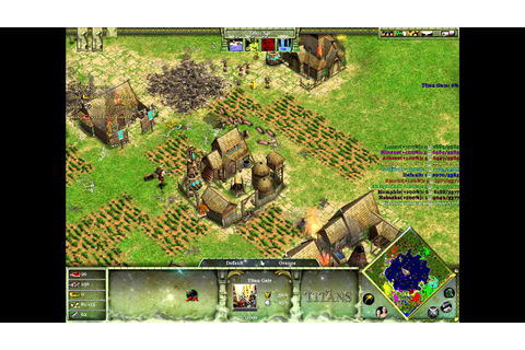 Age Of Mythology: The Titans - Gameplay - YouTube