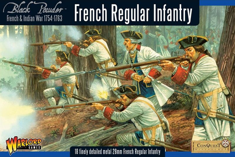 Warlord Games - French Indian War 1754-1763: French ...