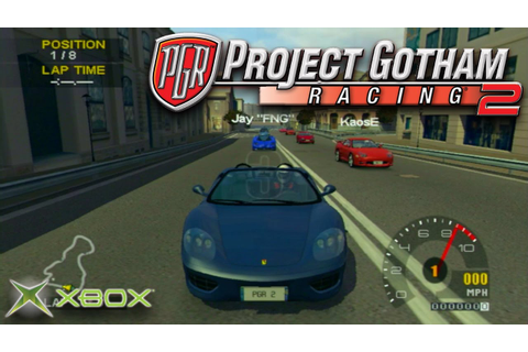 Project Gotham Racing 2: Multiplayer Street Race ...