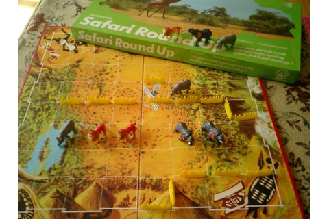 Safari Round Up | Board Game | BoardGameGeek