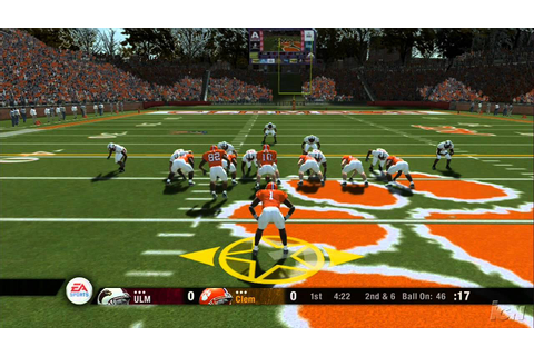 NCAA Football 08 Xbox 360 Gameplay - ULM at Clemson (HD ...