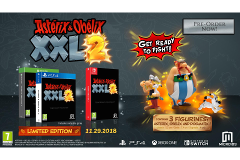 Asterix & Obelix XXL 3 in 2019 and XXL 2 Remaster For 2018 ...