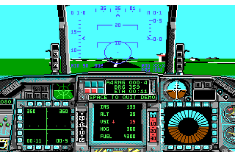F-16 Combat Pilot (1989) by Digital Integration MS-DOS game