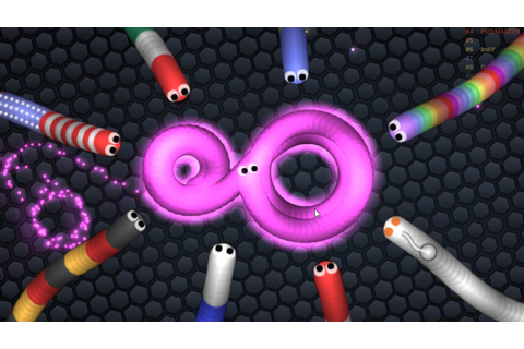 Slither.io Online Game of the Week