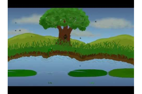 Frogs And Flies Remake - gameplay (classic Atari game ...