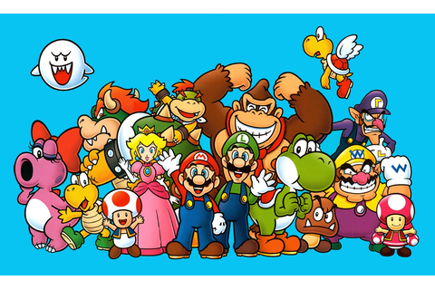 O-chan's Blog of Protoculture: Super Mario Bros. Art Style ...