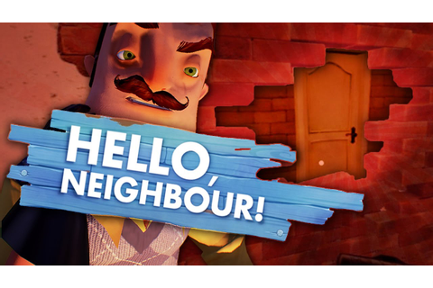 SECRET ROOM BEHIND THE WALL! (Hello Neighbor Game/ Hello ...