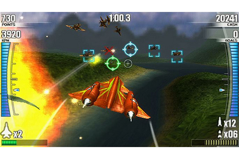Best PSP games download: After Burner Black Falcon