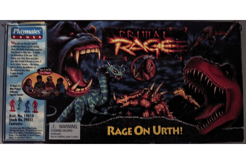 Primal Rage: Rage On Urth! | Board Game | BoardGameGeek