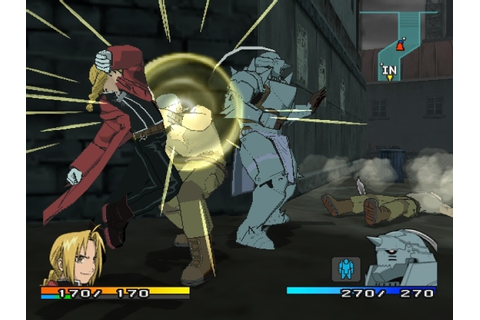 PS2 Fullmetal Alchemist 2: Curse of the Crimson Elixir ...