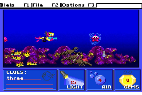 Download Super Solvers: Treasure Cove puzzle for DOS (1992 ...