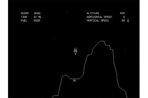 Lunar Mission - A Free physics based lander game - Touch ...