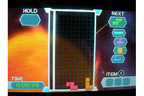 3DS Games Tetris Axis Gameplay 6 - YouTube