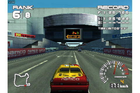 Ridge Racer Type 4 for Sony Playstation - The Video Games ...