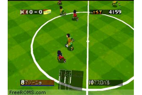 Download J.League Eleven Beat 1997 N64 ROMS