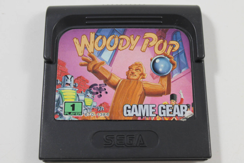 Woody Pop - Sega Game Gear