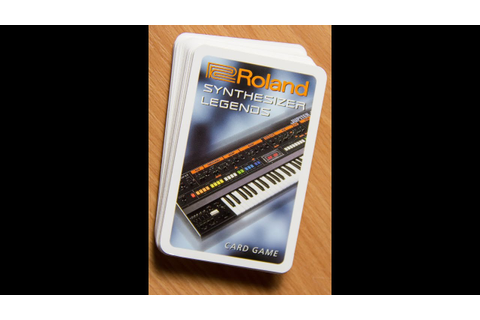 Roland Synthesizer Legends Card Game - YouTube