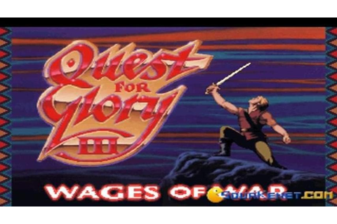 Quest for Glory 3 - Wages of War gameplay (PC Game, 1992 ...