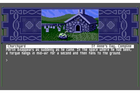 Arthur: The Quest for Excalibur Download (1989 Adventure Game)