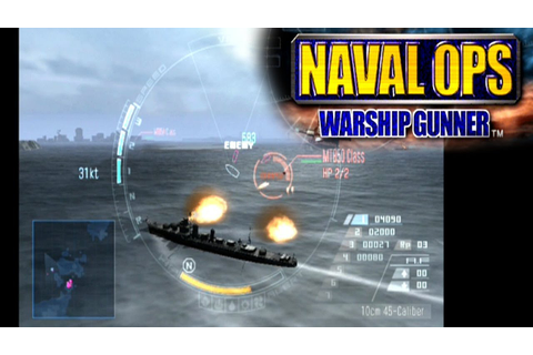 Naval Ops: Warship Gunner ... (PS2) - YouTube