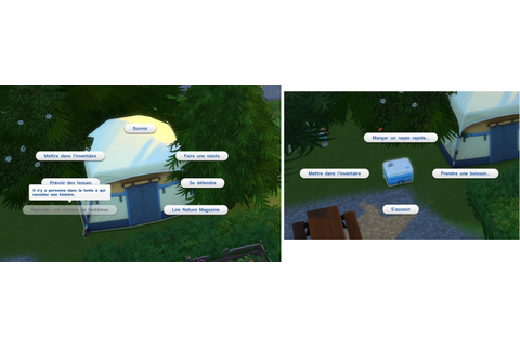 Les Sims 4 : Destination nature [GUIDE] - Next Stage