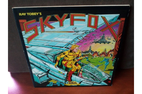 Items similar to Vintage Ray Tobey's Skyfox Video Game for ...