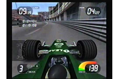 PS2 Formula One 2001 - Monaco - De La Rosa - Jaguar - 5th ...
