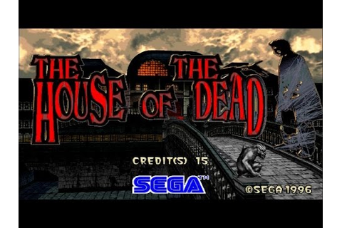 The House Of The Dead - Walkthrough (Arcade) - YouTube