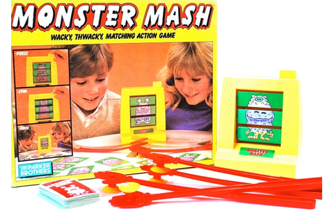 Monster Mash Game Complete by Parker Brothers by ...