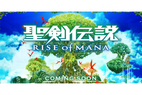 Square Enix Announces Rise Of Mana Game For Mobile Devices ...